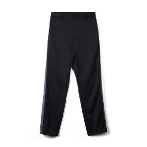 "OOPARTS OPT18FWPT03BK Side Zip-up Pants ""Black"""