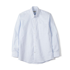 "BANTS BTS Stripe Oxford Tab Collar Shirt ""Skyblue"""