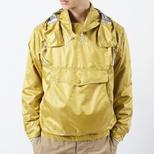 "OOPARTS OPT16SSTP01 Anorak Parka ""Mustard"""