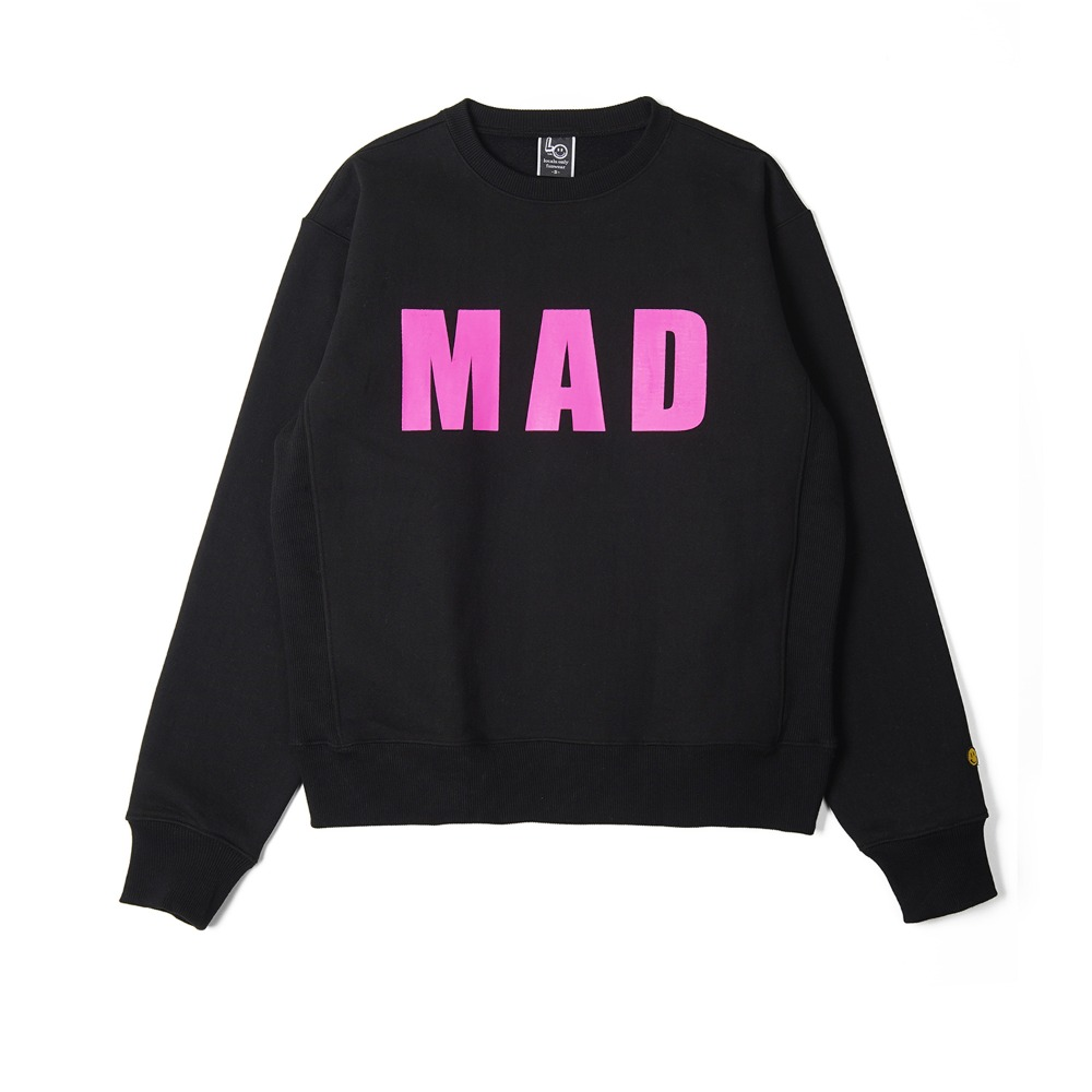 "LOCALS ONLY MAD Sweat Shirts ""Black"""