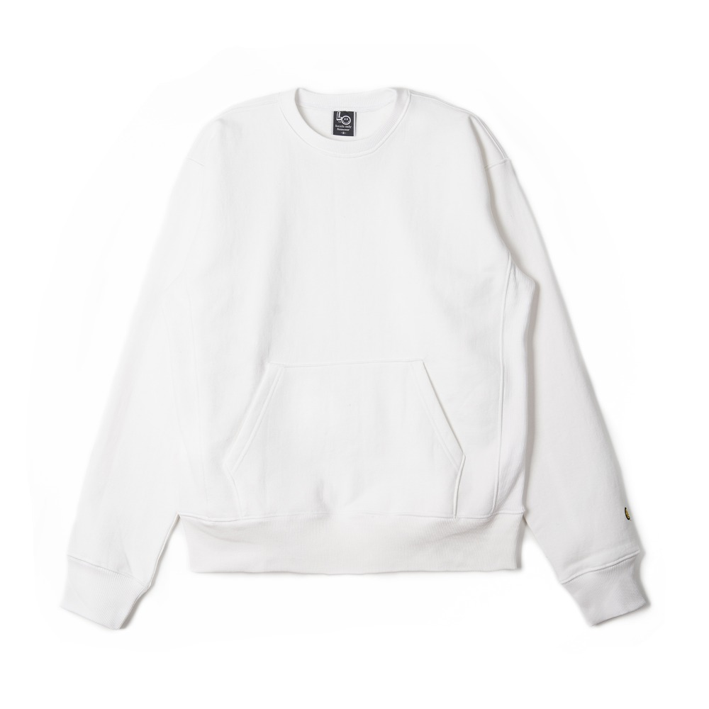 "LOCALS ONLY Pocket Sweat  Shirts ""White PFD"""