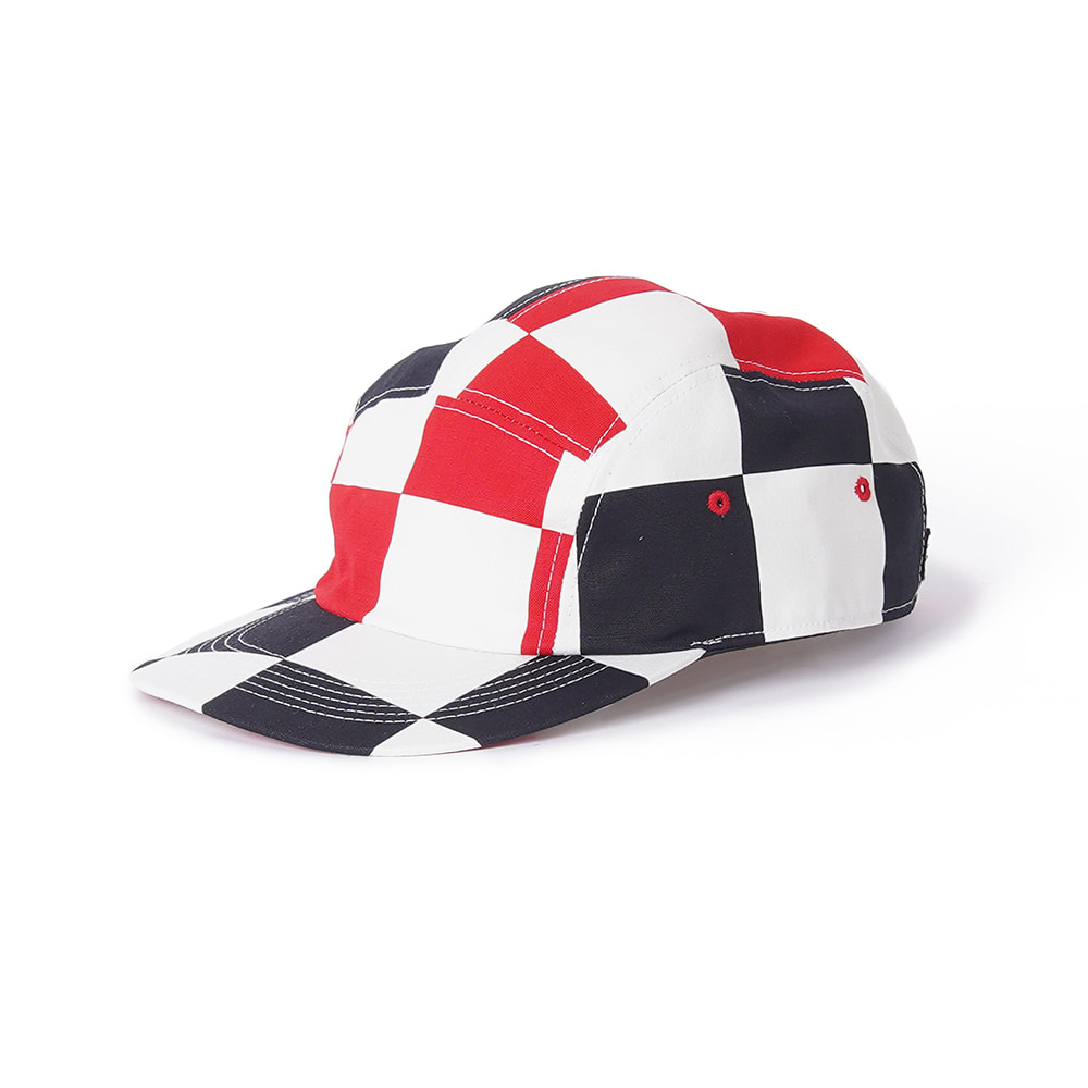 "LOCALS ONLY Checkrboard Jet Cap ""White/Red/Black"""