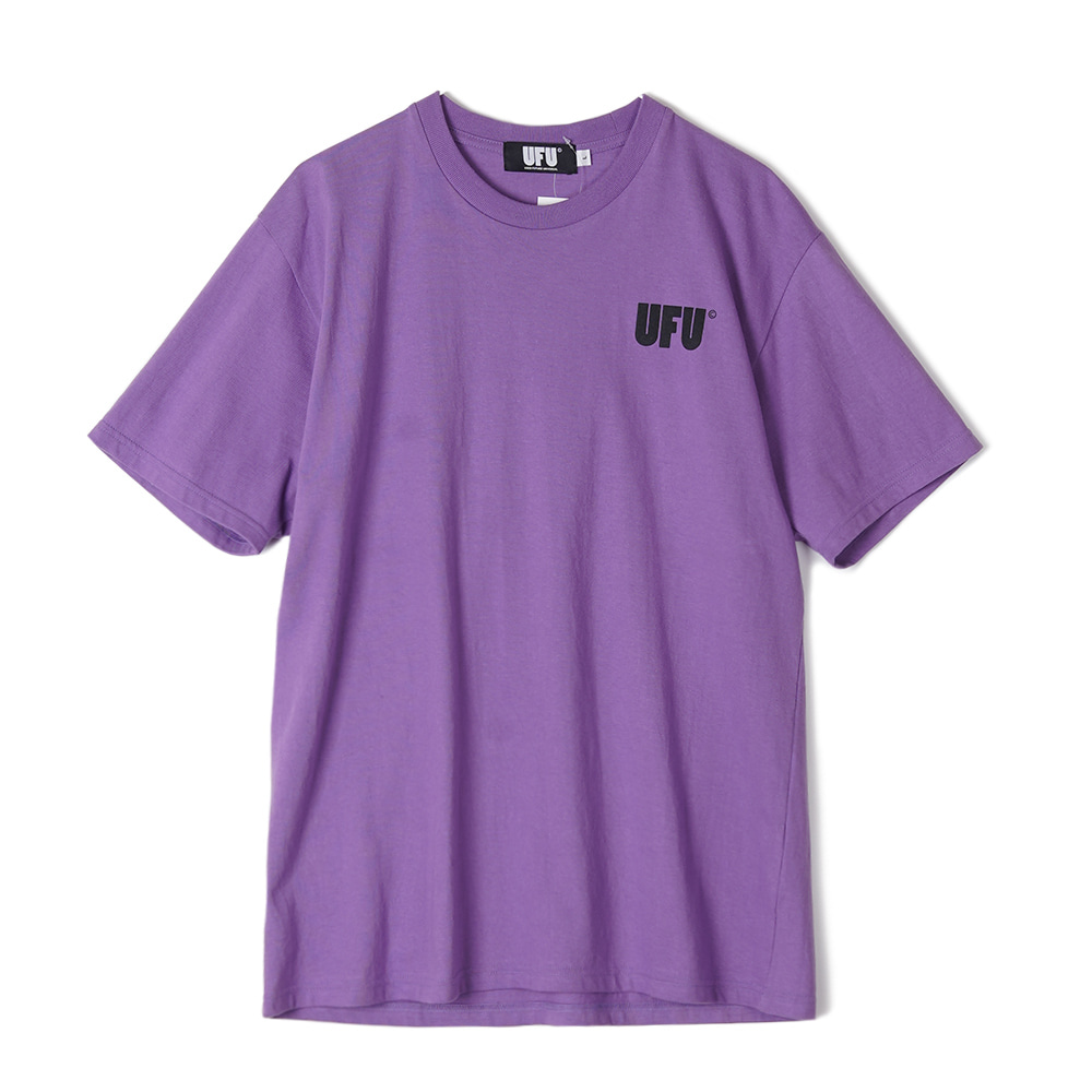 "USED FUTURE AD T-Shirt ""Purple"""