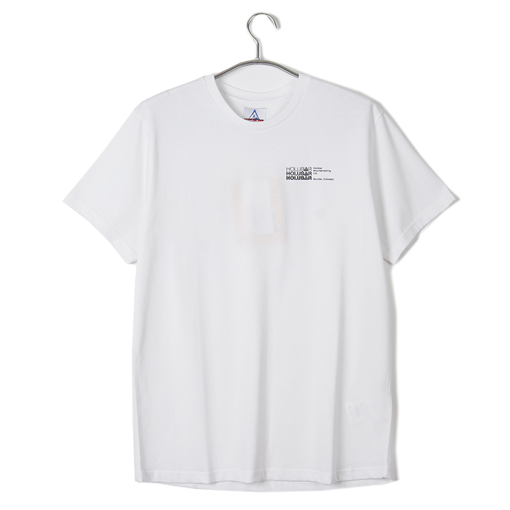 "HOLUBAR M516 Small Logo T-Shirt ""White"""