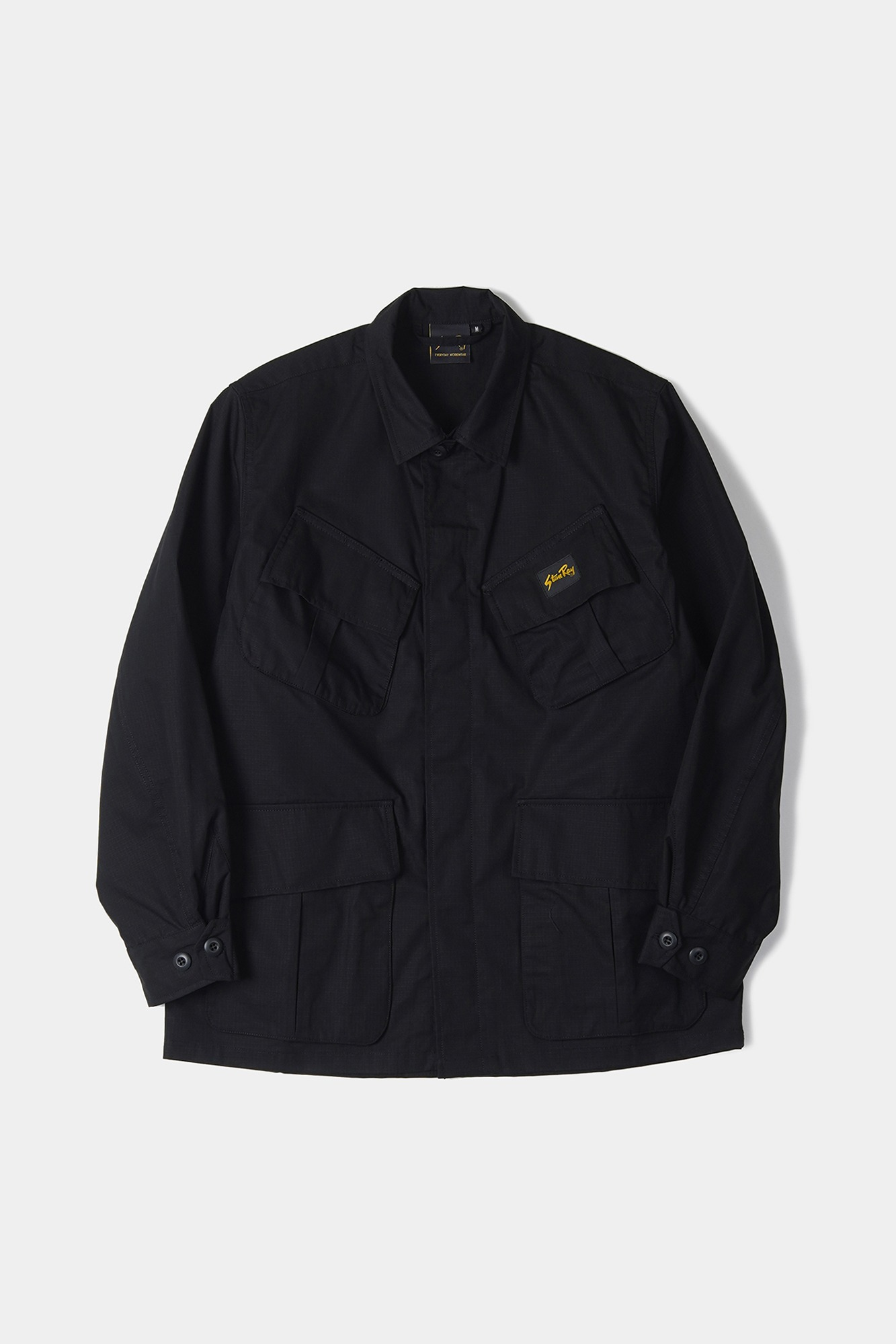 "STAN RAY Tropical Jacket ""Black NYCO"""