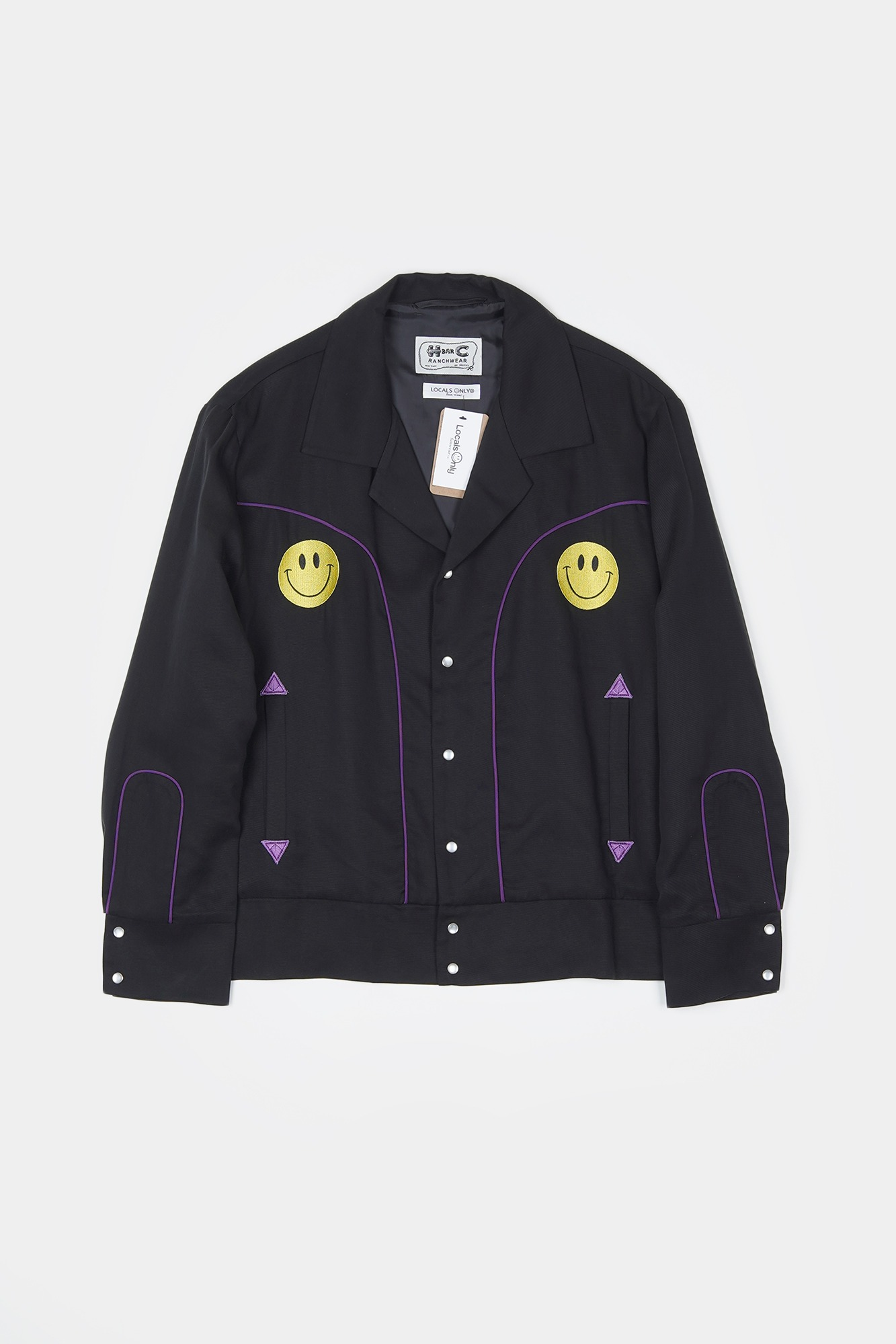 "[Collaboration]LOCALS ONLY X HbarC Western Bollero Jacket ""Black"""