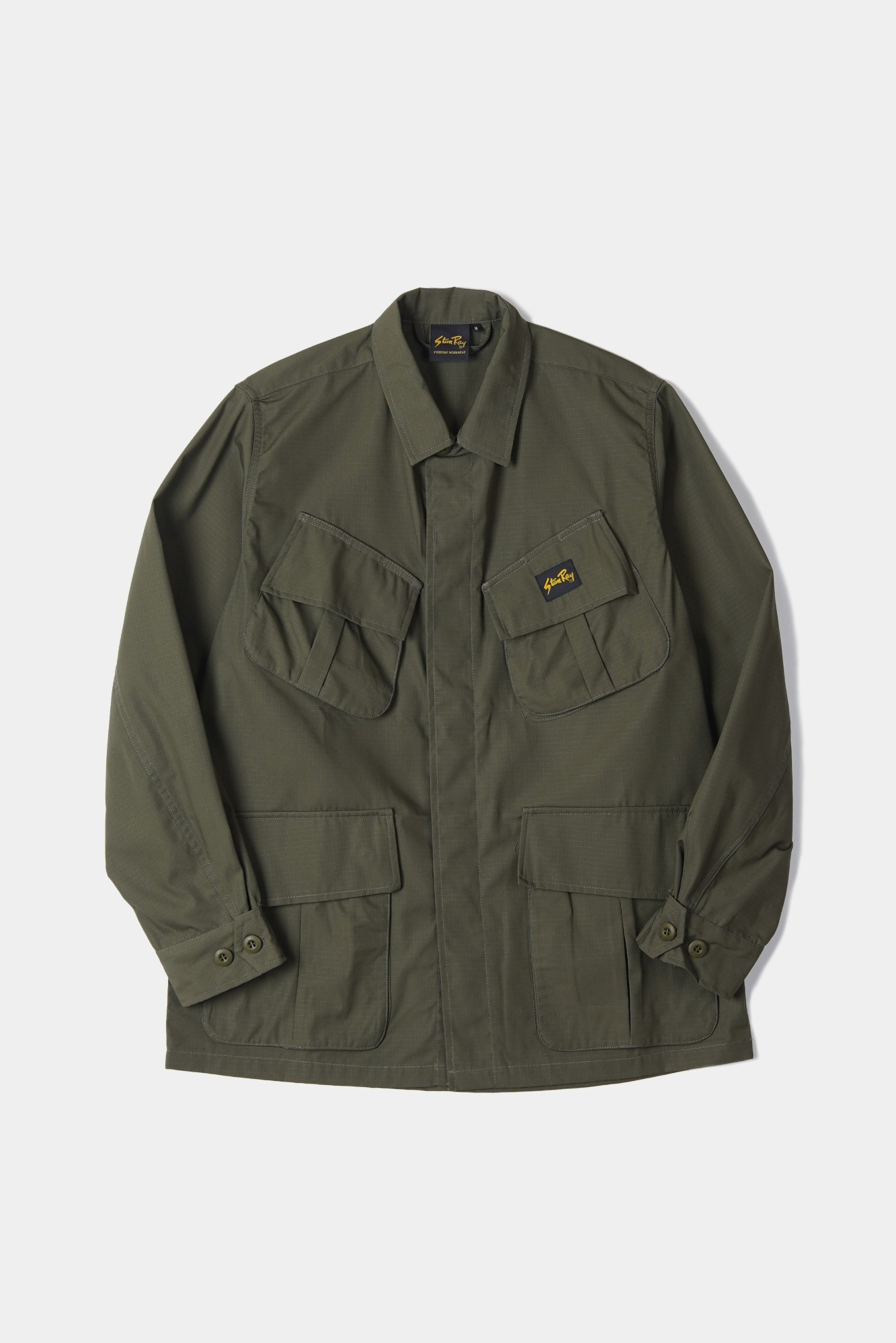 "STAN RAY Tropical Jacket ""Olive NYCO"""