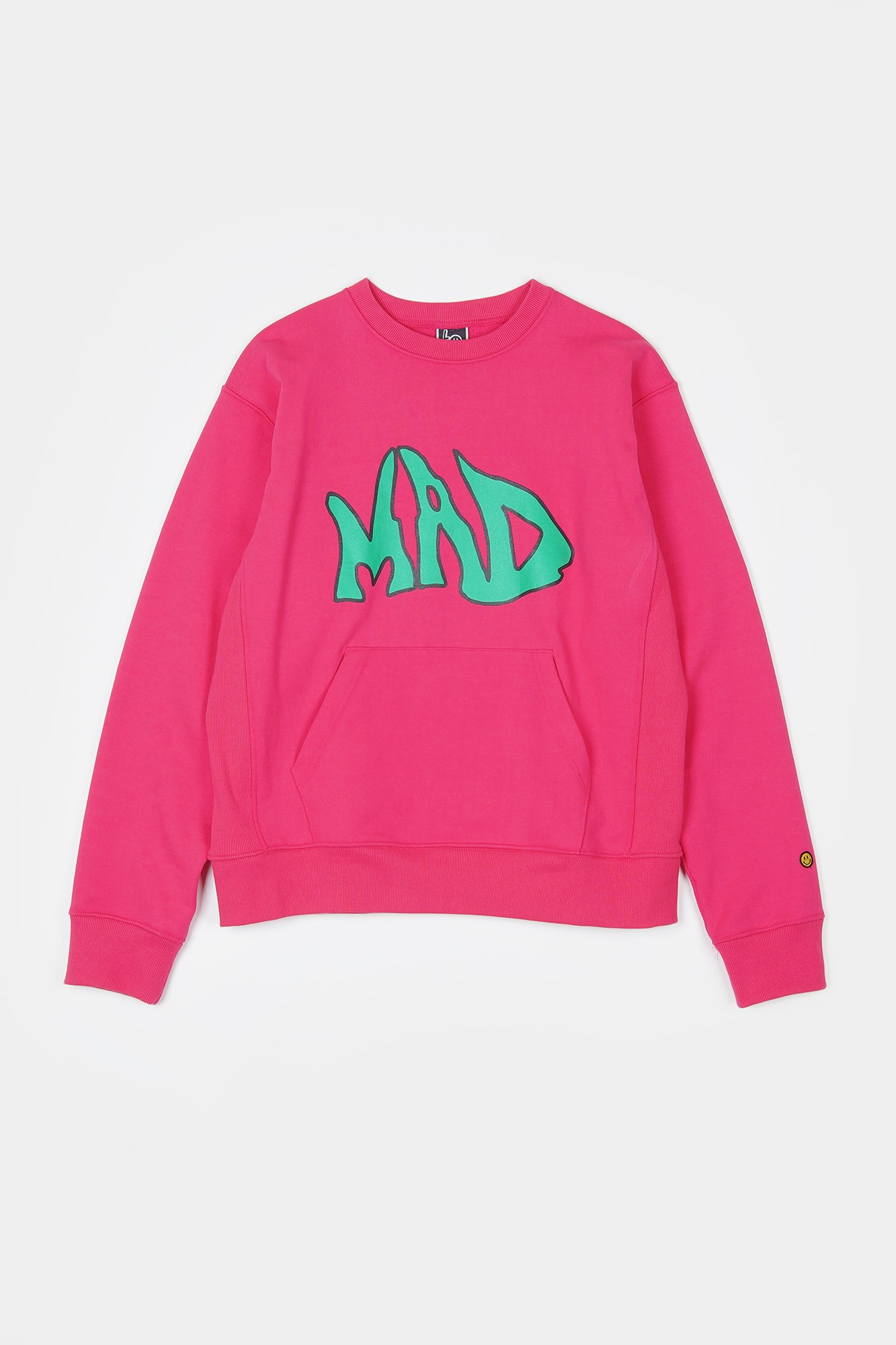 "LOCALS ONLY MAD Pocket Sweat Shirts ""Pink"""