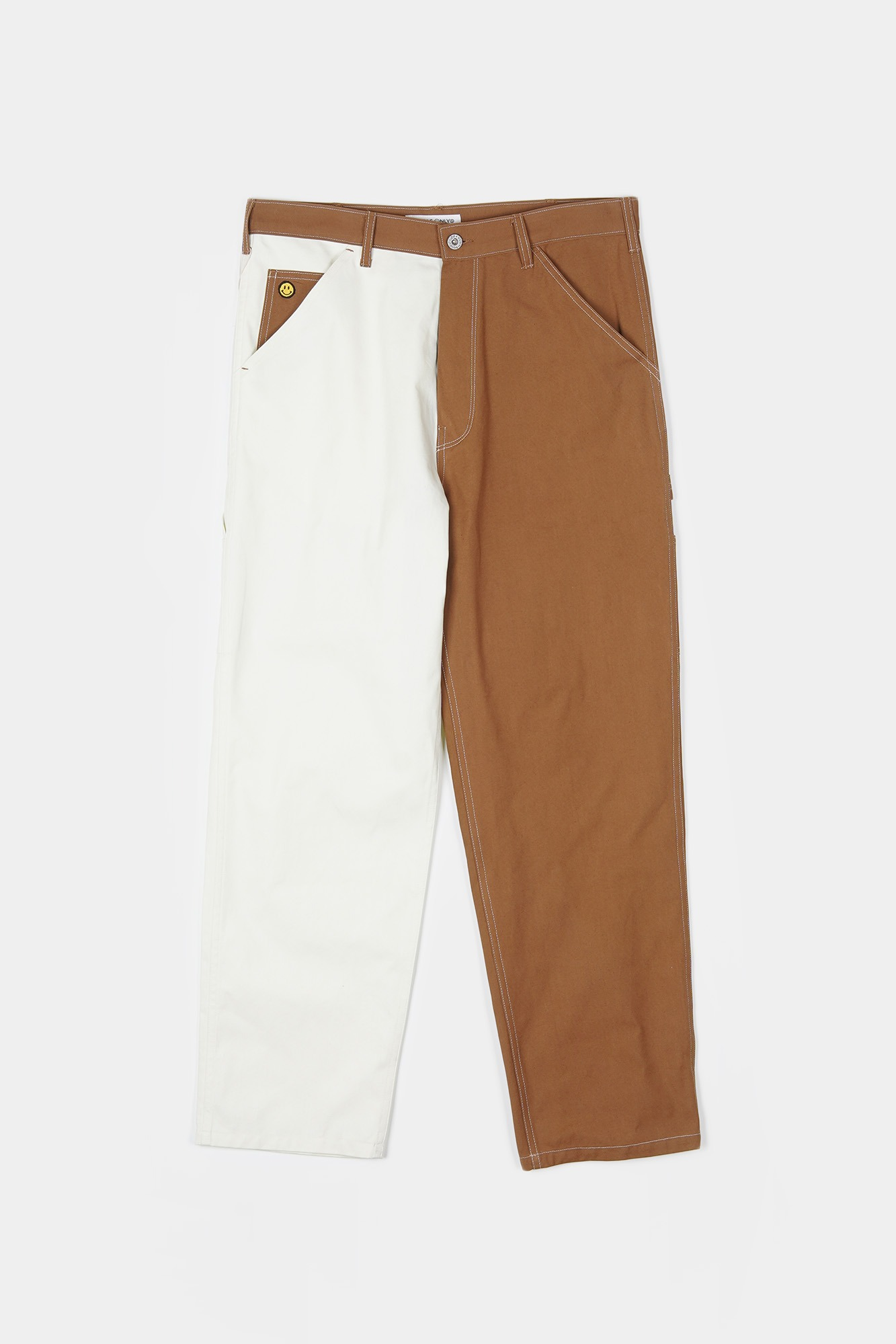 "LOCALS ONLY Two Face Painter Pant ""Natural/Brown"""