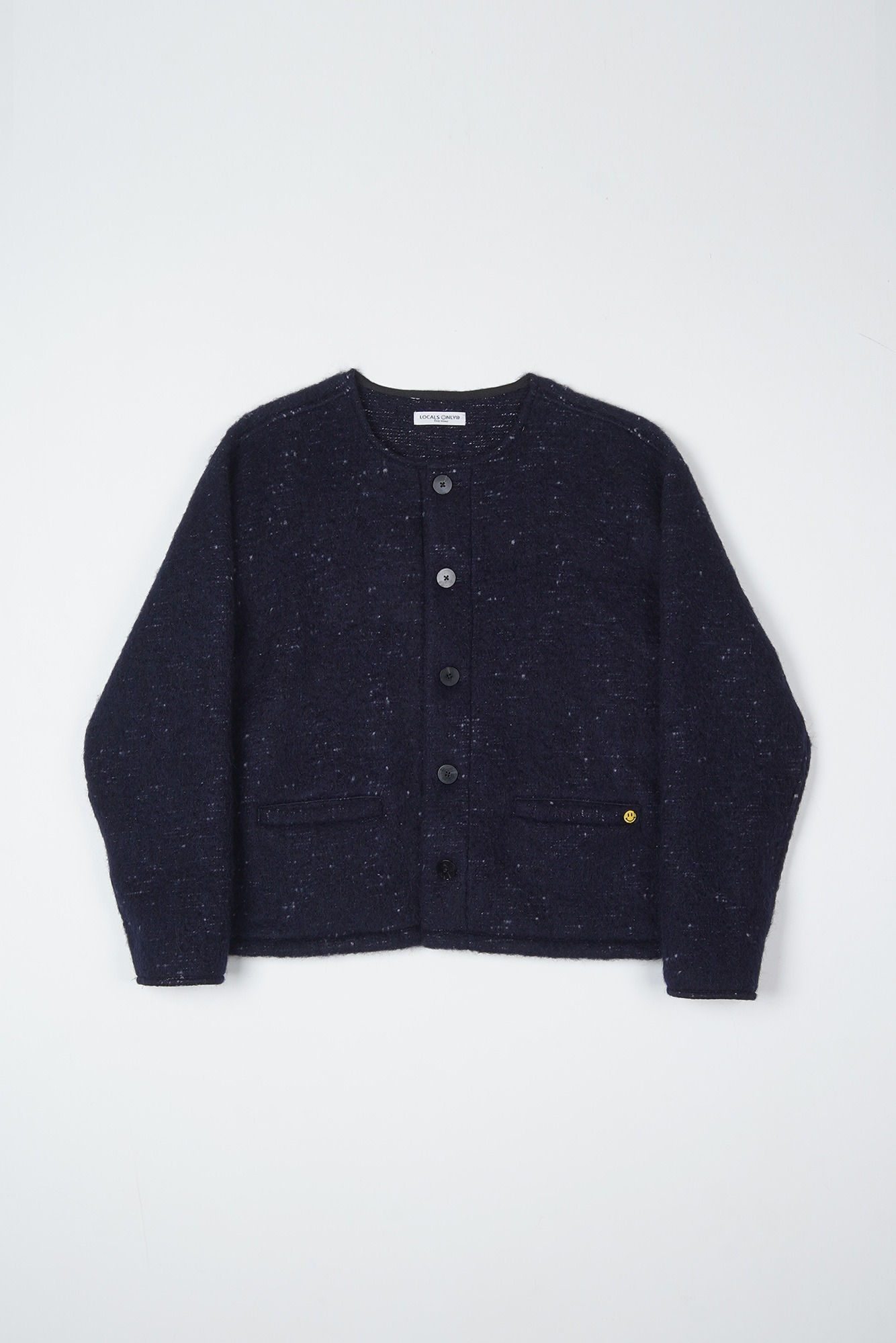 LOCALS ONLY Shaggy Dog Mohair Cardigan