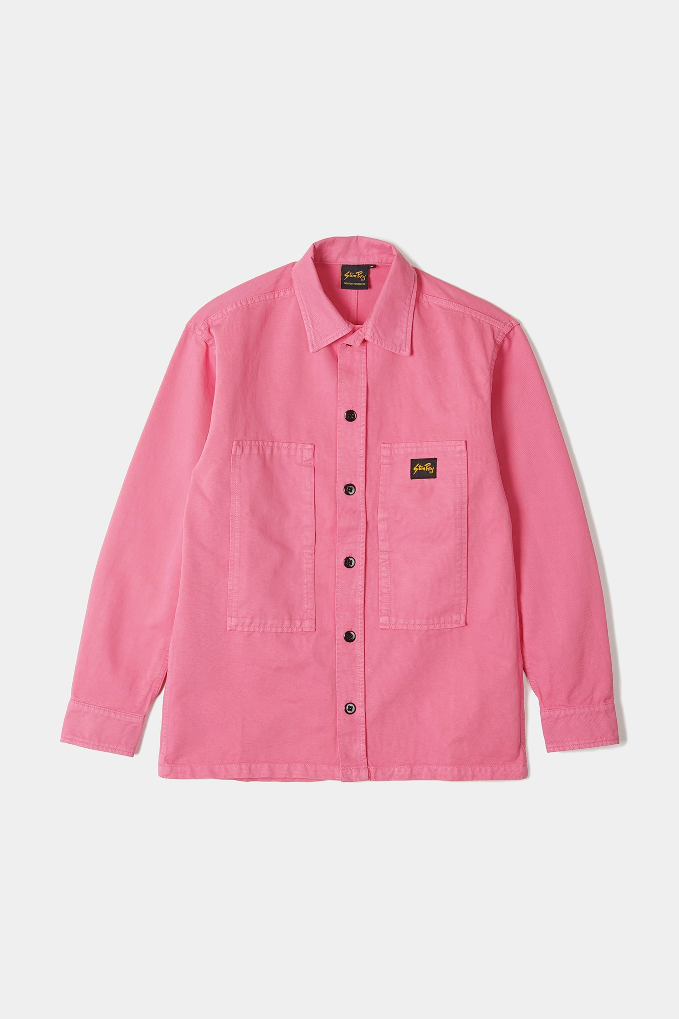 "STAN RAY Prison Shirt ""Washed Pink"""