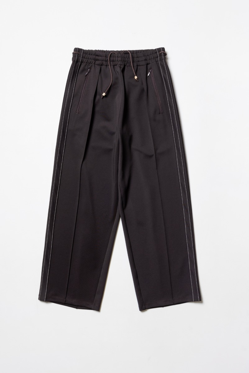 "POLYTERU Track Pants ""Purple Brown"""