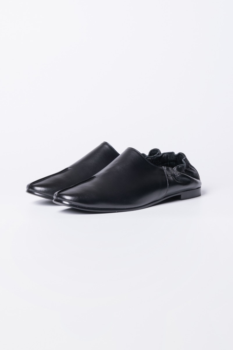 "POLYTERU Leather Shoes ""Black"""