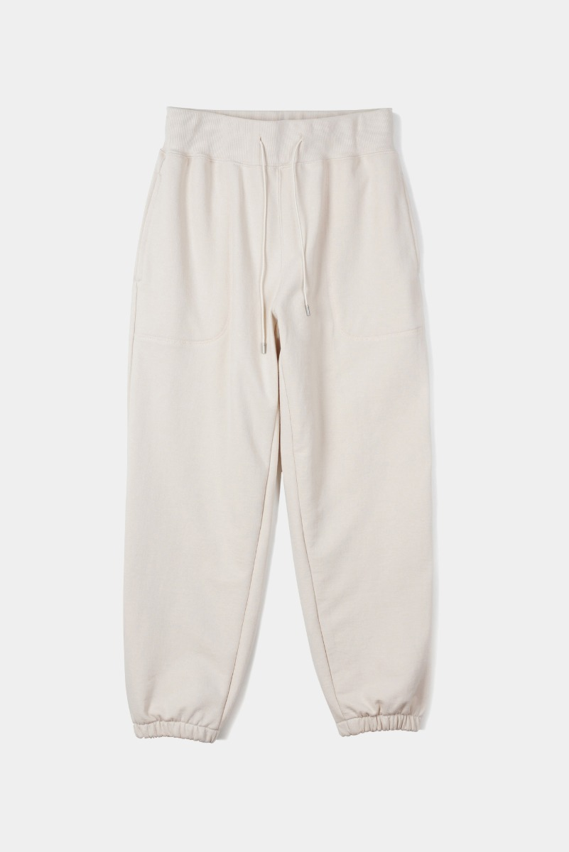 "OOPARTS Cover Stitch Lounge Pants ""Cream"""