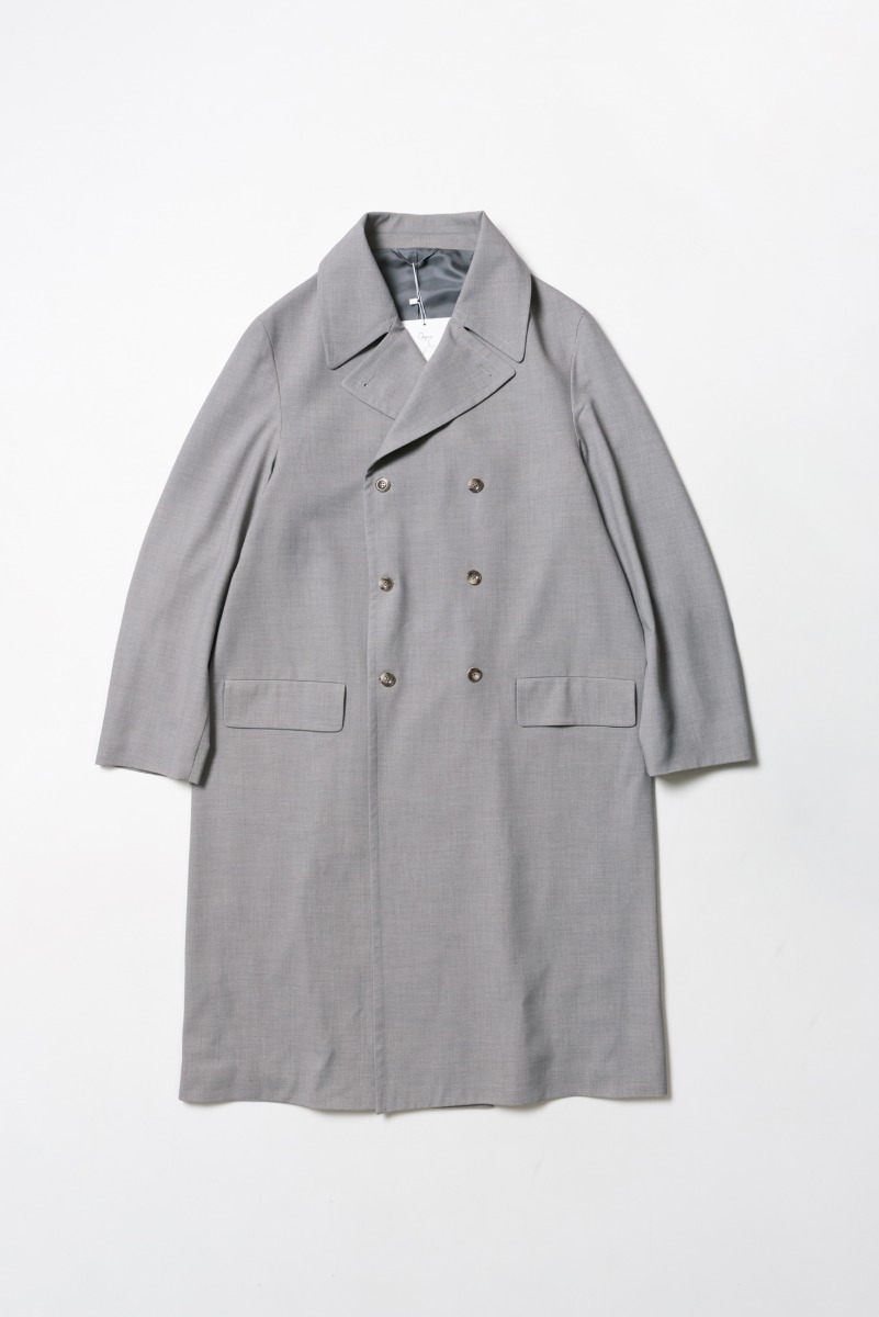 "OOPARTS Over-sized Double-Breasted Coat ""L.Grey"""
