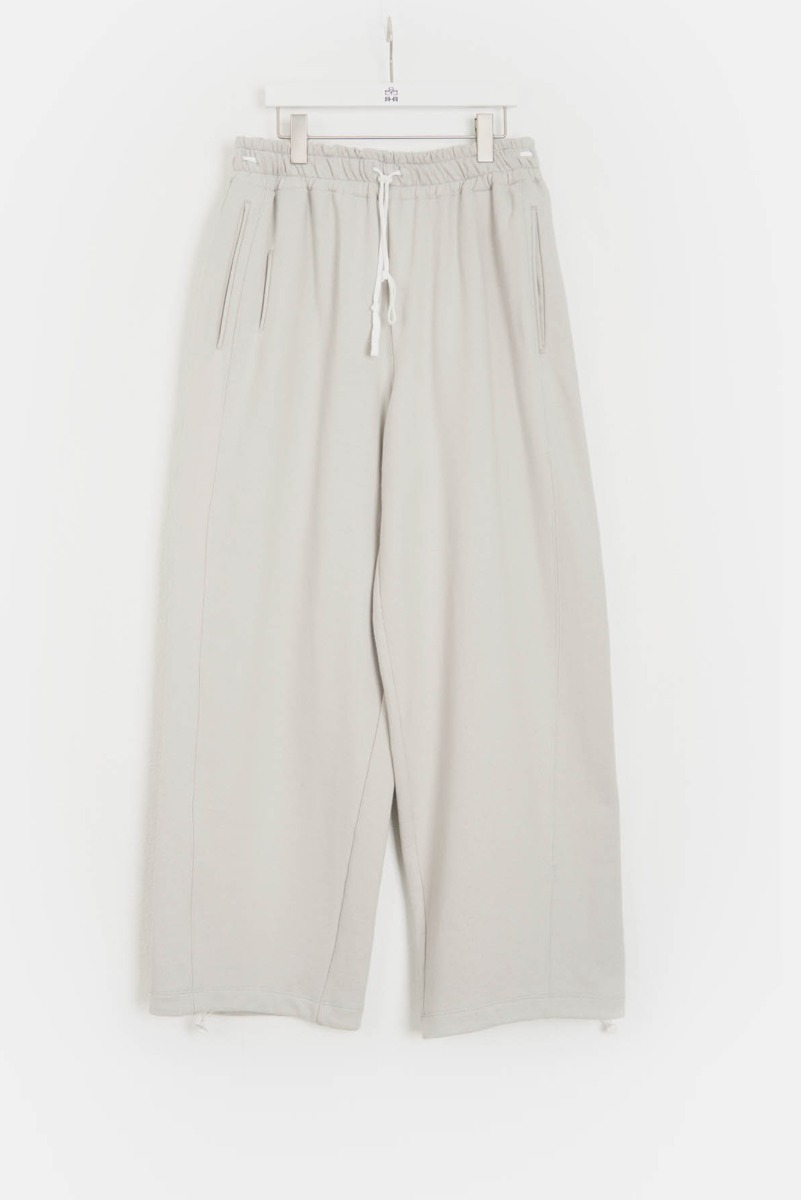 "POLYTERU Wide Sweat Pants ""L.Grey"""